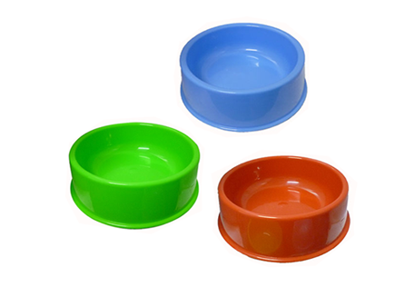 Plastic Dog Bowls, Pet Supplies